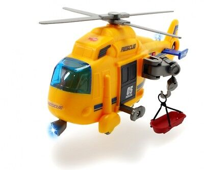 Dickie Toys 203302003 - Action Series Rescue Copter, Rettungshelikopter