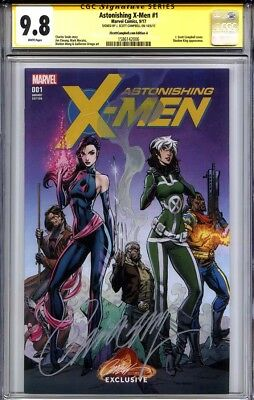 ASTONISHING X-MEN #1 CGC 9.8 SS J. SCOTT CAMPBELL (Campbell Cover A variant)