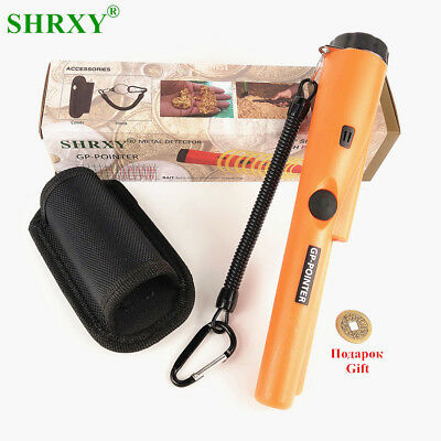 Pro Pointer Metal Detector Pointer Pinpointer Hand Held Gold Detector -Orange