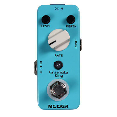 Mooer Ensemble King Classic Analog Chorus Micro Guitar Effects Pedal