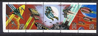 USA 1992 Space Strip 5 MNH