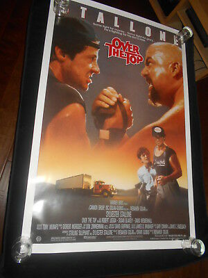 Over The Top  Original  Rolled One Sheet  Poster Sylvester Stallone