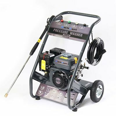 SwitZer Petrol Power Pressure Jet Washer 3000PSI 6.5HP Engine With Gun Hose