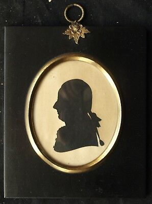 Miniature silhouette Charles Potts Senior c1790