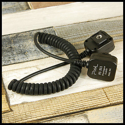 FC-311 Canon EOS fit Pixel Off Shoe Cord flash for Digital SLR & EX Flashguns