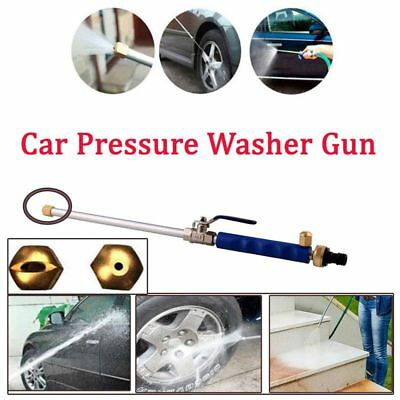 Hydro Jet High Pressure Power Washer Water Spray Gun Nozzle Wand Attachment Kits