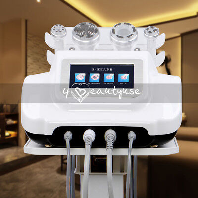 S-SHAPE Cavitation RF Radio Frequency Vacuum Electroporation Slimming Machine