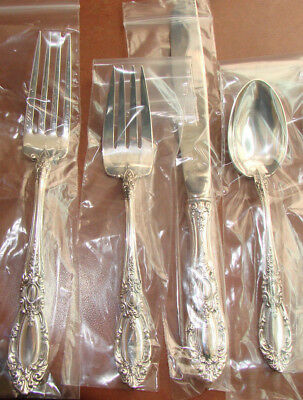 1 King Richard By Towle Sterling 4 Piece Gorgeous Place Set Have 12 Sets