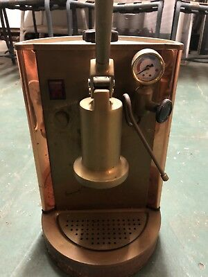 """Antique Copper And Brass Expresso Machine """"eurico Of Italy"""""""