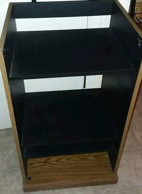 Home Stereo Cabinet Vintage 1981 Media Storage (new In Box) Assembly  Required