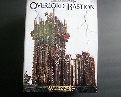 WARHAMMER Age of Sigmar Chaos Dreadhold OVERLORD BASTION new Box Games Workshop