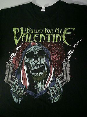 Bullet For My Valentine Welsh Heavy Metal Rock Band T Shirt Size M