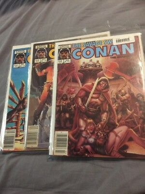 The Savage Sword Of Conan Lot 119 116 122 Awesome Covers