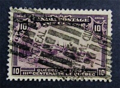 nystamps Canada Stamp # 101 Used UN$200 VF