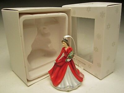 Royal Doulton Deck the Halls H5715 Christmas Lady Figurine Ornament NIB 2014
