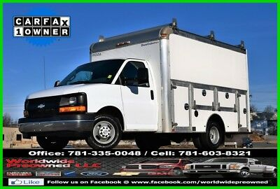 2017 Chevrolet Express Enclosed Utility Van 2017 Chevrolet Express 3500 Cutaway Enclosed Utility Van 6.0L Gas Chevy GMC Used