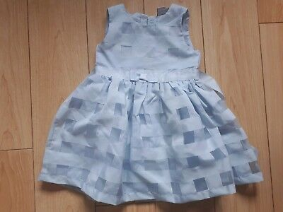Baby girls Blue Party Dress Age 18-24 Months Mini Club
