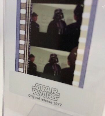 Authentic Star Wars: A New Hope IV Film 5-Cells DARTH VADER BOARDING LEIA'S SHIP