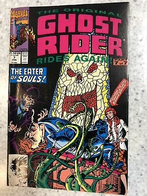 Ghost Rider Rides Again #7 1992 Marvel Comic