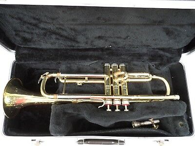 Vintage Conn Director Trumpet With Mouthpiece and Case * Must See! No Reserve!