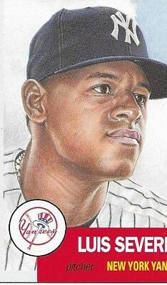 Luis Severino 2018 Topps Now Living Set