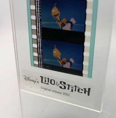 Disney LILO & STITCH Authentic Animation Film 5-Cells Strip PLEAKLEY