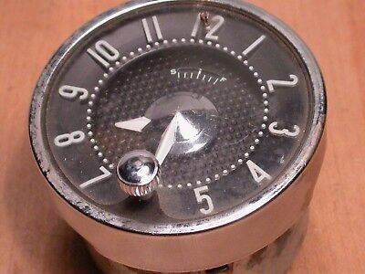 Vintage New Haven Watch Co. Electric Automobile Car Clock USA