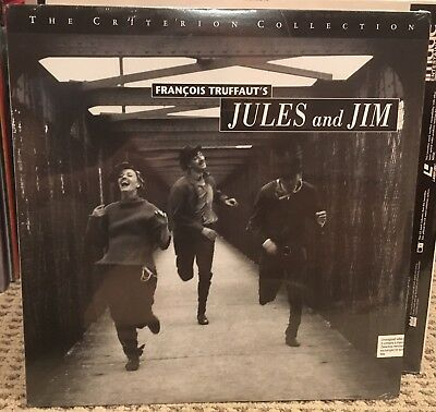 JULES AND (ET) JIM Criterion Laserdisc Special Edition Truffaut BRAND NEW