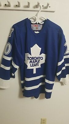 Toronto maple leafs jersey NHL #20 Johnson