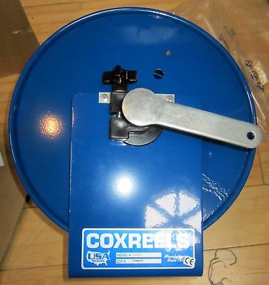 Coxreels #112Y-4 Hand-crank Steel Tubing or Electrical Cord Storage Reel USA