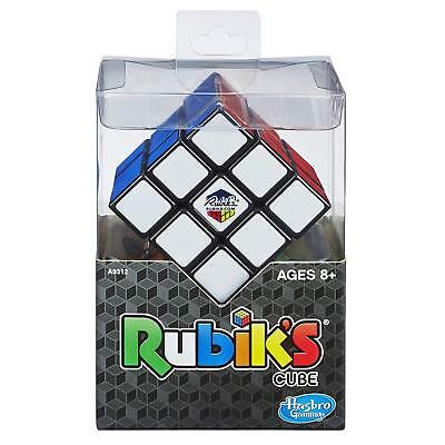 Rubik 3 x 3 Puzzle Cube Game With Stand Rubik's Hasbro Toy
