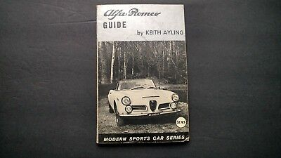 ALFA ROMEO GUIDE 1964 vintage CAR softcover book Modern Sports Car Series