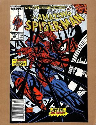 Amazing Spider-Man # 317 - NEAR MINT 9.4 NM - Venom! MARVEL Comics