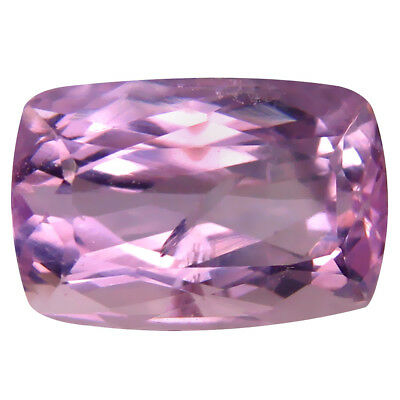 5.36 ct AAA Elegant Cushion Shape (12 x 8 mm) Pink Kunzite Natural Gemstone