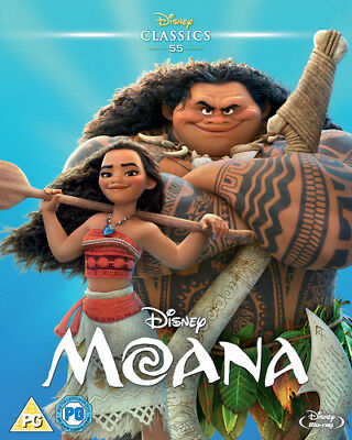 Moana new!!!!!! (2016) Blu-ray dvd disney movies