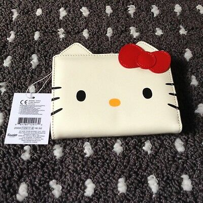 Hello Kitty Face Wallet- Brand New With Tags