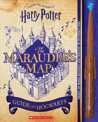 Harry Potter: The Marauder's Map Guide to Hogwarts 9781338252804