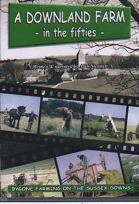 Farming History  DVD: A DOWNLAND FARM IN THE FIFTIES