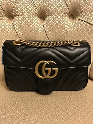 4943cc590844 GUCCI - GG Marmont Matelasse Backpack 528129 (RRP £1