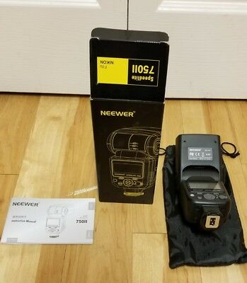 Neewer Speedlite 750II Flash For Nikon