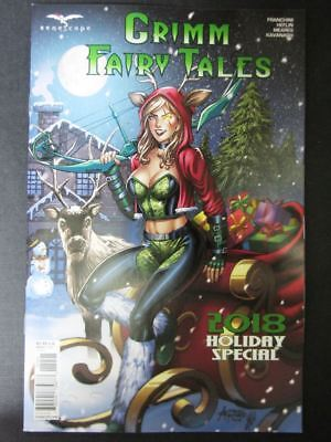 Grimm Fairy Tales 2018 Holiday Special - December 2018 - Zenescope Comics # 2A49