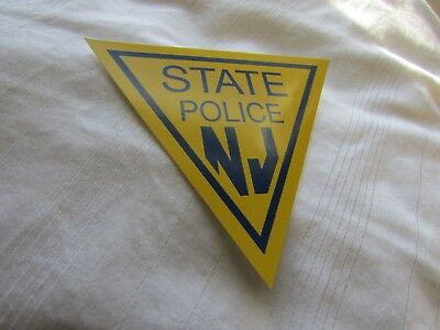 New Jersey State Police Decal Sticker