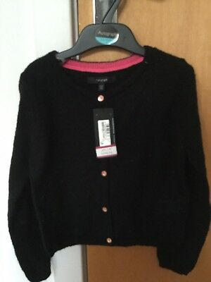 M And S Autograph Girls Cardigan 5-6 New With Tags Marks Spencer