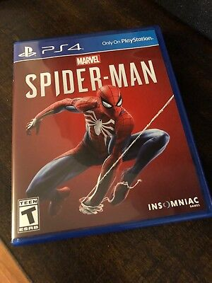 Marvel's Spider-Man - PlayStation 4 - PS4 Game (EXCELLENT Pre-Owned Condition)