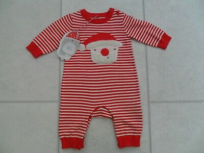 New Boys Boots Christmas Knitted All In One Age 0/1 Month BNWT