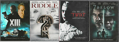 4 Val Kilmer DVDs - XIII The Conspiracy / Riddle / Twixt / 7 Below