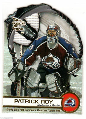 """**patrick Roy**01-02 Mcdonald's Pacific """"glove-Side Net-Fusions"""" #1 (Montreal)"""