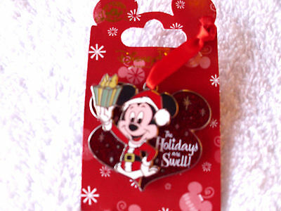 Disney * MICKEY - HOLIDAYS ARE SWELL * Sparkle Holiday Pin