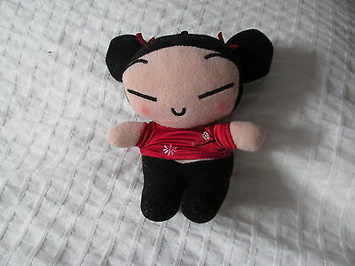 """PUCCA FUNNY LOVE Plush Doll Stuffed Toy Japanese Anime Girl 7"""" VOOZ"""