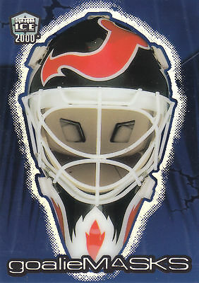 **martin Brodeur** 99-00 Pacific Dynagon Ice Goalie Mask #2 (New-Jersey Devils)